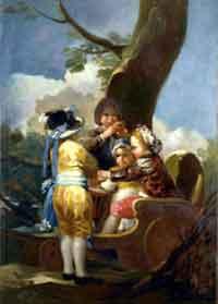 Cuadro de Goya que había sido robado en EE.UU.