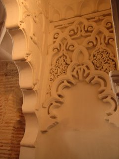 Yesería mudéjar de la Capilla de la Asunción del Monasterio de las Huelgas, Burgos [Foto: Alejandro Pérez Ordóñez]