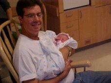 Dad with Susanna