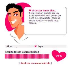 calculadora de el amor