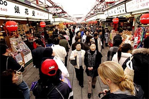Asakusa Nakamise:Shops in Asakusa