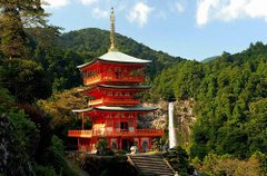 Secluded Temple in Mie-ken
