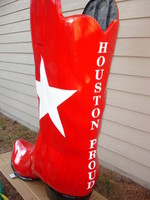 My boot for Halliburton - Boot Scoot 2007