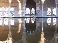 Espejos de la alhambra