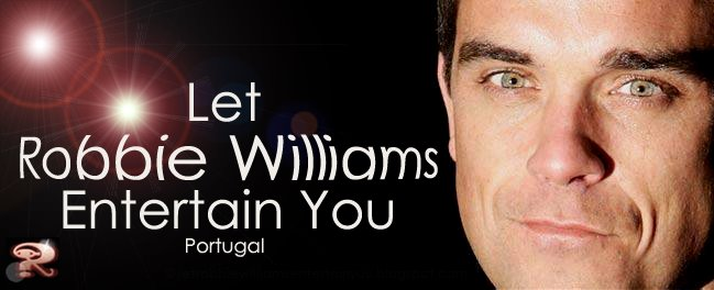 Let Robbie Williams Entertain You Blog
