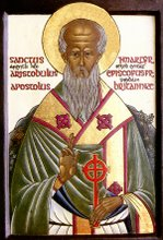 Saint Aristibule, Founding Bishop, AD 37, of the Church in the British Isles: +15th March