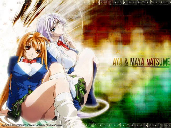 Aya & Maya Natsume (what a kind of girls) *¬*