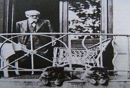 Freud au balcon.