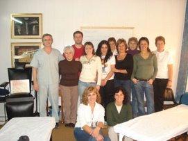 Alumnas del curso - Quiromasaje corporal
