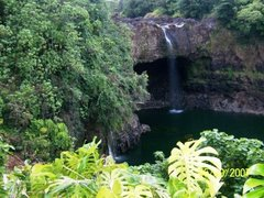 Hawaiian Waterfall - Big Island