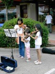 Music hath charms.