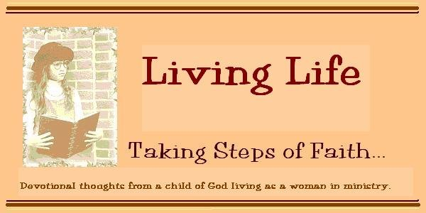 Living life with steps of faith
