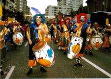 A todo candombe por Vigo