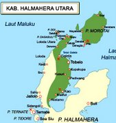 North Halmahera Map