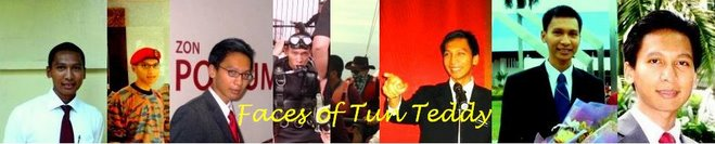 Faces of Tun Teddy