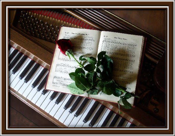 Música,  flores y un buen poema...