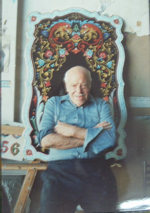 "Maestro del ""Fileteado Porteño"""