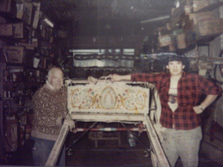 Ricardo junto a su discípulo Diego Varela