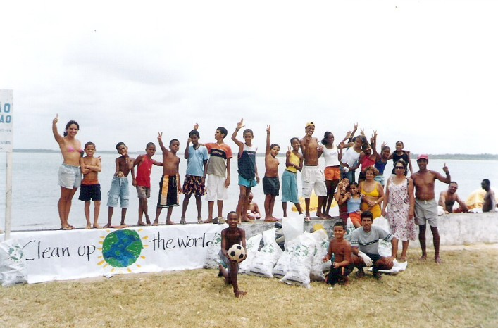 Clean Up the World em Cacha-Pregos