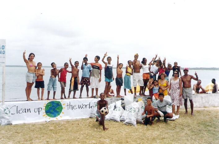 Clean Up the World em Cacha-Pregos