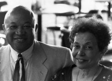 Arnett and Barbara Chavous, 1999
