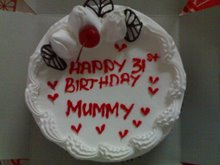 Bday Cake From Huby N KidZ