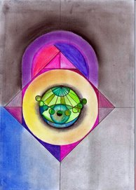 Mandala: Verde, Fe, Luz,