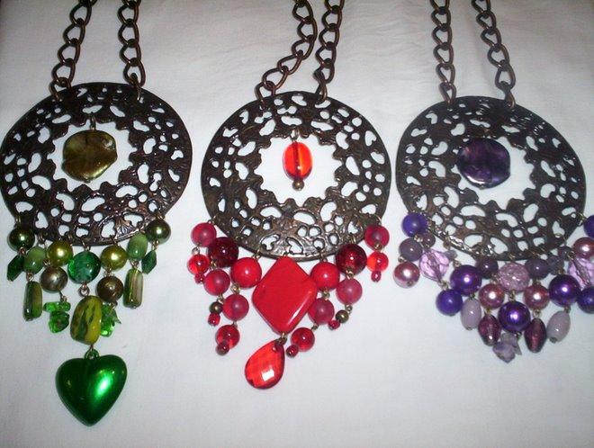 Medallones con piedras
