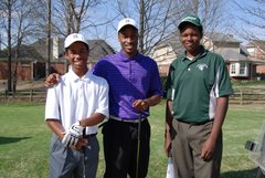 Junior Golfers at Quail Ridge