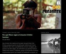 """Revista """"El ojo pensante"""" sobre el claustro por la refundación de la Carrera de Cine de la U.V."""
