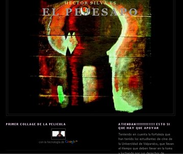 """Blog de la película: """"EL PEJESAPO"""""""