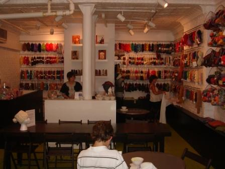 """Knit and Be Happy"" boutique in New York"