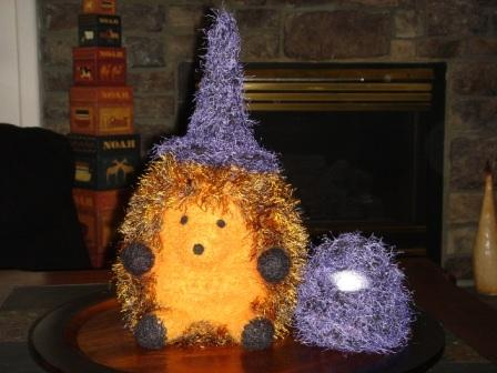 Henderson the Halloween Hedgehog
