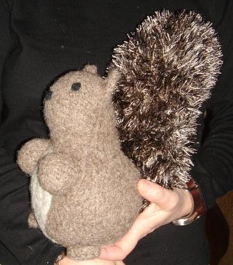 Rudy the Squirrel