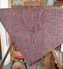 handspun shawl
