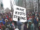 Canadians rally for Kyoto