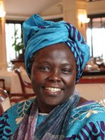 Wangari Matthai - African environmental activist