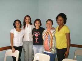 Equipe de Intercessão I Encontro para Mulheres
