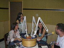 Divulgação do I Encontro de Mulheres na Radio America