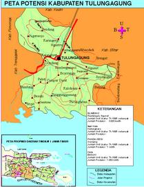 Peta Tulungagung