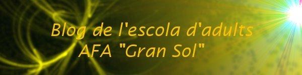 """blog de l'escola AFA """"Gran Sol"""""""