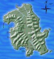 Lost island map