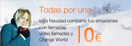 Orange (Spain) Christmas Commercial 2006 featuring ED: