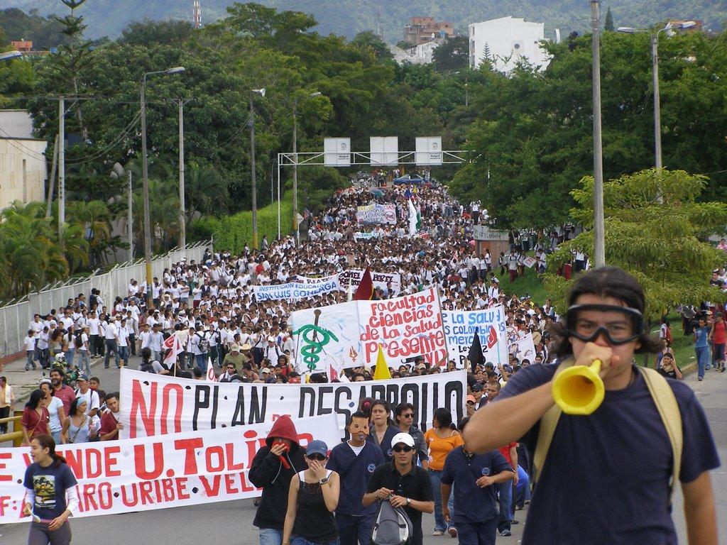 Según los medios estas marchas no son masivas
