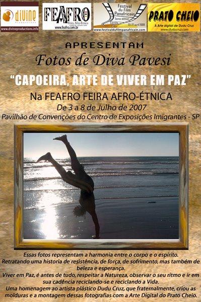 CAPOEIRA ARTE DE VIVER EM PAZ