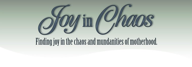 Joy in Chaos