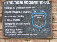 Refeng-Thabo Secondary School