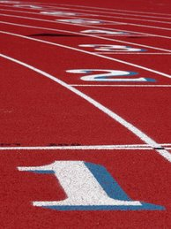 Life is like a track lane