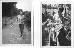 Con mis Tias Cecilia y Herminia