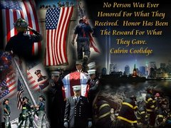 9/11 Remembered - 343 NEVER FORGET